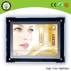 Advertising Display Hanging Acrylic Crystal Light Box pictures & photos