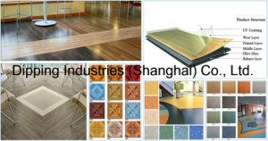 PVC Floor Tiles Production Line pictures & photos