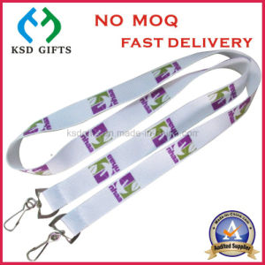 Wholesale Screen Printing Shoulder Lanyard with Double Swivel Hook pictures & photos