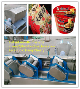 China Newest Design Cheap Oil Frying Instant Noodle Making Machine pictures & photos