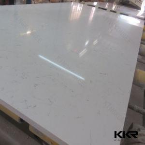 Factory Wholesale Artificial Carrara Quartz Stone pictures & photos