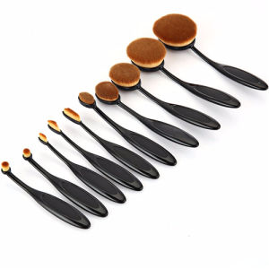 Professional 10PC/Set PRO Beauty Toothbrush Shaped Makeup Brush Sets pictures & photos