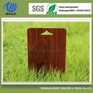 Special Wood Effect Powder Coating for Aluminium pictures & photos
