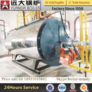 Wns Series 1ton 2ton 3ton 4ton 5ton Natural Gas LPG LNG Fired Fire Tube Steam Boiler pictures & photos