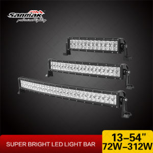 "50"" 288W CREE Super Bright Offroad Curved LED Lightbar pictures & photos"