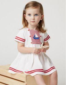 Cute Sailor Uniform for Little Girl′s Dress pictures & photos
