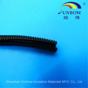 Sunbow Flexible PP PA PE Plastic Split Corrugated Pipe Wire Conduit pictures & photos