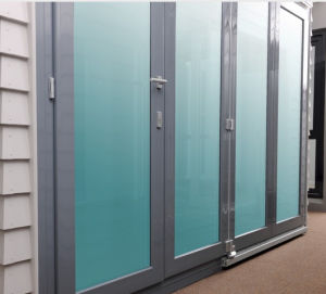 High Grade Quality Kommerling PVC Bi-Folding Door (BHP-AD03) pictures & photos