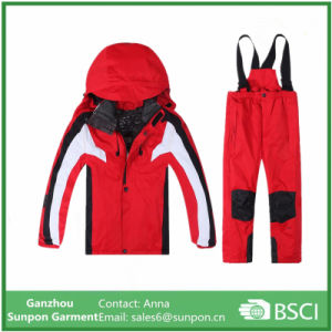 New Fashion Clothing Set Kids Ski Suit Wear with Hoody pictures & photos