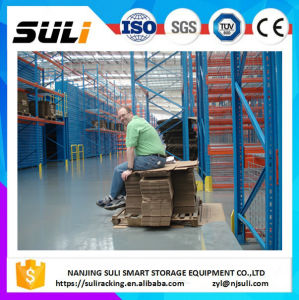Warehouse Storage Pallet Rack Forklift Drive in Freezer Use Q345 Steel Cold Storage Racking pictures & photos