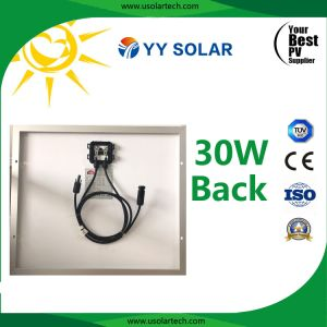 30watt Beautiful Appearance Solar Panel for Solar Signal Lamp pictures & photos