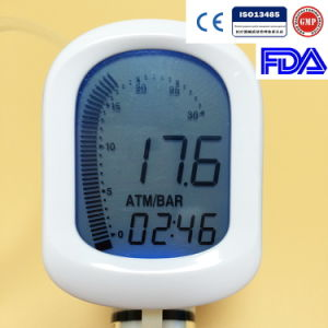 Disposable Medical Balloon Inflation Device for Ptca Operation with Digital Display pictures & photos