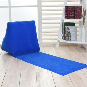 Flocked Inflatable Triangle Cushion Pillow pictures & photos