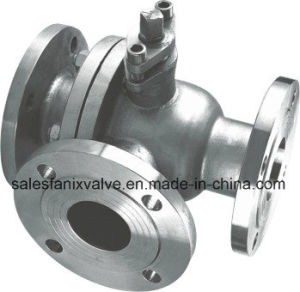 3-Way Flange Ball Valve (T Port) pictures & photos