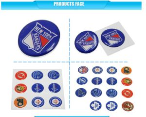 Epoxy Dome Resin Label Most Popular Custom Sheet Synthetic Paper Epoxy Glossy Cartoon Label for Child pictures & photos
