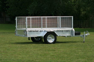 Fully Welded Box Trailer in Galvanized pictures & photos