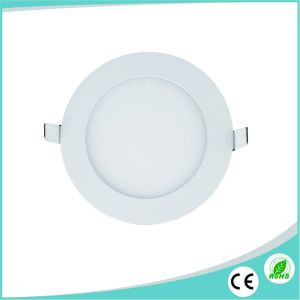 3W Ultra Slim Round LED Ceiling Panel Light pictures & photos