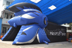 New Design Trojan Helmet Inflatable Sports Tunnel (Chad363-1) pictures & photos
