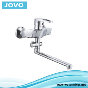 Single Handle Wall-Mounted Kitchen Faucet Jv70905 pictures & photos