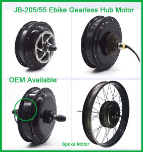 Jb-205/55 48V 1500W Electric Fat Tire Bike Hub Motor Conversion Kit pictures & photos