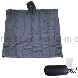 Outdoor Polyester Waterppro Rainwear Rain Poncho (RWA10) pictures & photos