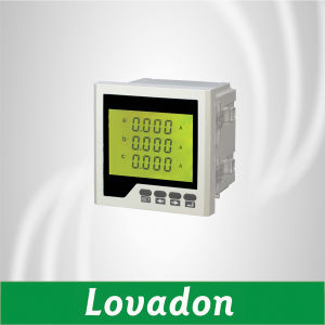 Lh-3AA2y 120*120mm Three Phase Digital Current Meter LCD Display Ampere Meter pictures & photos