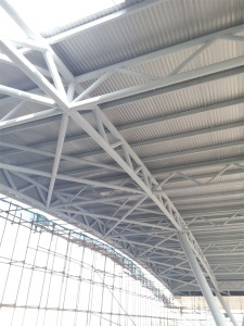 Pipe Steel Structural for Building Roof pictures & photos