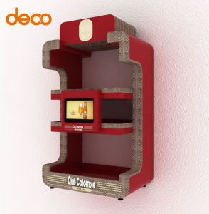 Corrugated Display Cardboard Wall Display Stand for Exhibition pictures & photos