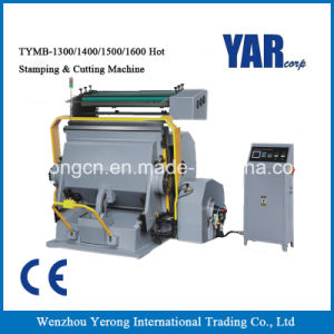 Factory Price Semi-Auto Hot Stamping & Cutting Machine with Ce pictures & photos