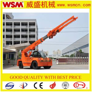 Wsm 10t Telescopic Boom Forklift Truck pictures & photos