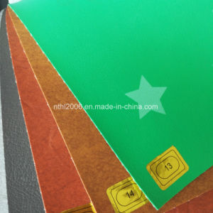 2017 New PVC Stock Sofa Leather for Making Furniture (HL-46B) pictures & photos