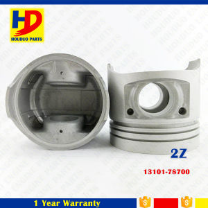 Excavator Diesel Engine Parts 2z for Piston OEM No (13101-78700) pictures & photos