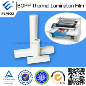 Glossy and Matt BOPP Thermal Lamination Film for Advertising Paper Bags pictures & photos