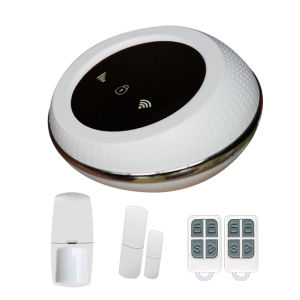 Ios/Android APP Controlled Wireless Home Burglar Security WiFi GSM Alarm System pictures & photos