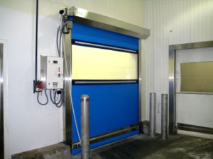 Soft Industrial Rapid Roll up Flexible Industrial Rapid Rolling up Door pictures & photos