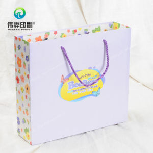 Toiletries Art Paper Printing Gift Packaging Bag pictures & photos