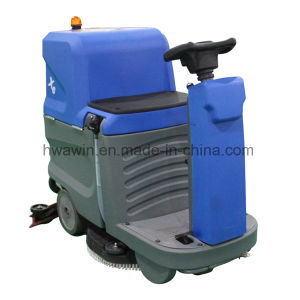 High Quality Flexible Ride on Electric Floor Scrubber pictures & photos