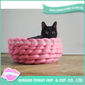 Wholesale Knitting Dog House Acrylic Pet Bed for Sale pictures & photos