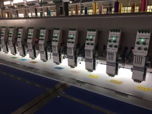 30 Head 4 Colors Flat Embroidery Machine pictures & photos