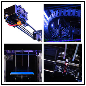 Factory LCD-Touch 200X200X200building Size 0.1mm Precision Desktop 3D Printer pictures & photos
