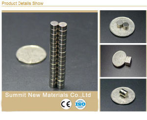 High Quality Block Disc Magnetic Toy Neodymium Permanent Small Magnet pictures & photos