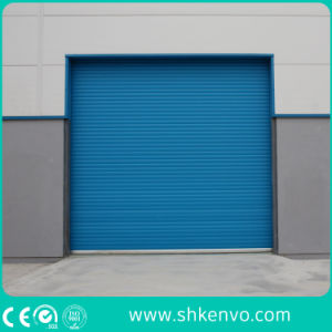 Ce Certified Thermal Insulated Galvanized Steel Automatic Motorized Roller Shutter Door pictures & photos