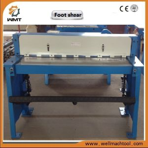 Foot Shearing Machine Bqf01-1.0X1050 with Good Price pictures & photos