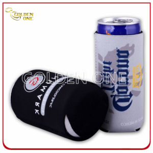 Superior Neoprene Printed Beer Bottle Stubby Holder with Zipper pictures & photos