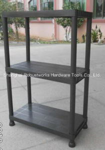 5 Tiers Resin Storage Shelving Unit (6030P-5T) pictures & photos
