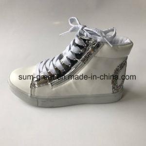 2016 Fashion Canvas Leisure Kid Women Shoes Boots 437 pictures & photos