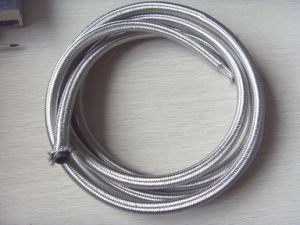 "1/4~1"" Ce Certified Outer Stainless Steel Braided Rubber Hose Stainless Steel Fuel Line pictures & photos"
