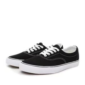 Canvas Fabric Rubber Sole Flat Casual