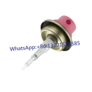 31.5mm Transparent Crimp on Spray Pump with Overcap pictures & photos