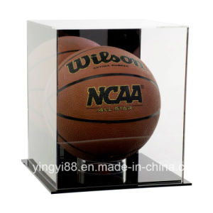 Custom Size Acrylic Basketball Display Case with Mirror Back pictures & photos